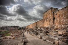 Walls of the Old City Jerusalem