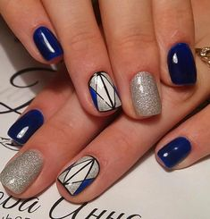 50 Winter Acrylics Short Nail Designs To Try This Season These trendy Nails ideas would gain you amazing compliments. Check out our gallery for more ideas these are trendy this year. Square Nail Designs, Short Nail Designs, Cool Nail Designs, Acrylic Nail Designs, Beautiful Nail Designs, Beautiful Nail Art, Stylish Nails, Trendy Nails, Elegant Touch Nails