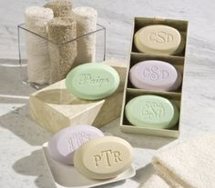 guest soaps - nice gift idea