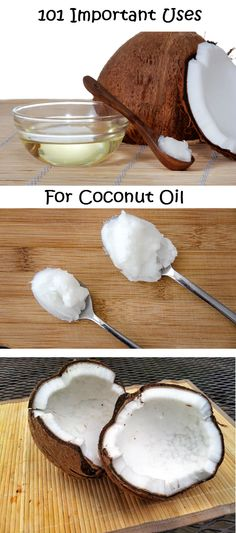 101 Important Uses For Coconut Oil