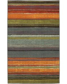 Contemporary Indoor/Outdoor Accent Rug: Mohawk Home Rugs Rainbow Multi 2 ft. 6 in. x 3 ft. 10 in. 269821