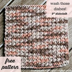 Leisure Arts Book Review and a Free Crochet Pattern from