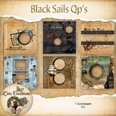 Black Sails quickpages
