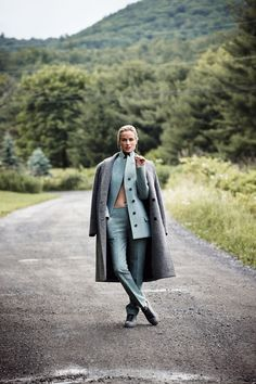 Carolyn Murphy photographed by Dan Martensen for Muse Fall 2014 #editorials #fashion