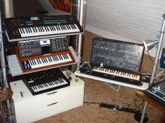 ikea racks for studio keyboards