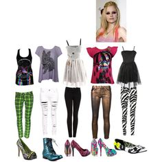 """""""avril lavigne iron fist inspired outfits"""" by avril-lavigne-fan-forever on Polyvore"""