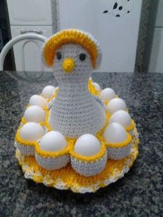 Image gallery – Page 364932376051443108 – Artofit Crochet Kitchen, Crochet Home, Crochet Baby, Knitting Patterns Free, Crochet Patterns, Crochet Chicken, Crochet Decoration, Learn To Crochet, Crochet Doilies