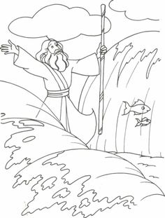 moses and quail - Google Search
