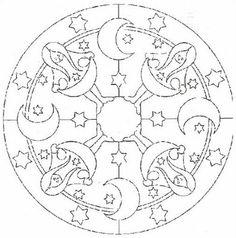 . Mandala Printable, Outline, Symbols, Peace, Logos, Art, Google, Picasa, Mandalas For Kids