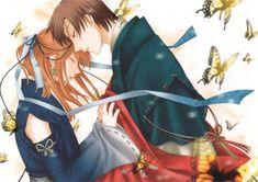 Fruits Basket - Tohru's parents, Kyoko and Katsuya All Anime, Anime Love, Manga Anime, Fruits Basket Anime, Kaichou Wa Maid Sama, Cute Anime Couples, Manga Drawing, Couple Art, Animation