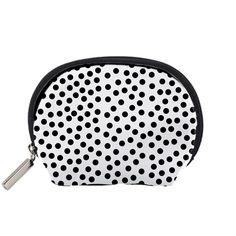 Black+Polka+Dots+Accessory+Pouch+(Small)