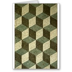 Ancient Roman Mosaic Patterns | Mosaic Patterns Greeting Cards - Zazzle.com.au