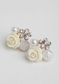 Classical Poetry Earrings at #Ruche @shopruche