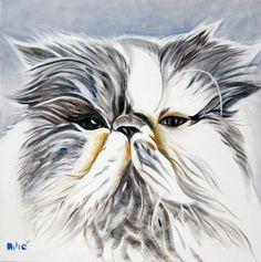 """20x20"""" oil on canvas by dragoslav drago milic"""