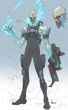 Mister Freeze Concept by Kenneth Rocafort