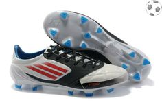 outlet store 8875f 7463c adidas f50 adizero miCoach Cuir FG Blanc Noir FT1173 Soccer Boots For Sale,  Cheap Football