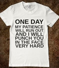 ONE DAY - Hipster Apparel - Skreened T-shirts, Organic Shirts, Hoodies, Kids Tees, Baby One-Pieces and Tote Bags Custom T-Shirts, Organic Shirts, Hoodies, Novelty Gifts, Kids Apparel, Baby One-Pieces | Skreened - Ethical Custom Apparel