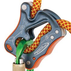 Climbing Technology Click Up Belay Device (for rock climbing) | This small tool, so innovative and ingenious, marks a new era in the vast world of belay devices. | at www.weighmyrack.com/