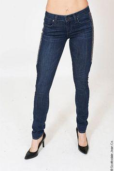 Paige Pieced Verdugo Skinny Jean $259.00 #sjc #scottsdalejeanco #fallfashion #winterfashion #paigejeans #paigedenim #skinnyjeans #blingjeans