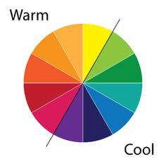 Kindergarten: Warm and cool colors - art