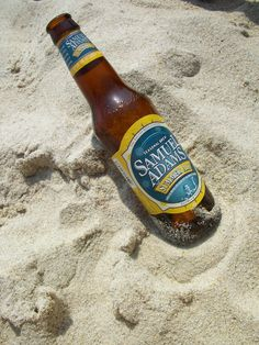 Sam Adams Summer Ale- This shall be my beach drink. Beach Drinks, Beer Bottle, Brewing, Ale, Summertime, Beautiful, Summer Clothes, Spaces, Sweet