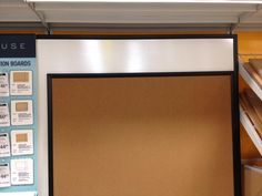 Giant dry erase/bulletin board combo. Office Max