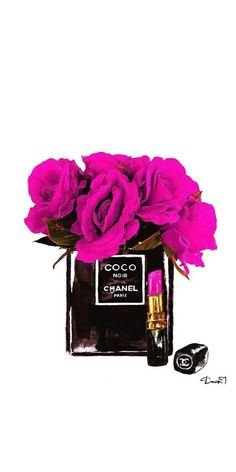 44 New Ideas For Makeup Room Ideas Chanel Coco Chanel Wallpaper, Chanel Wallpapers, Cute Wallpapers, Fotografie Hacks, Chanel Poster, Mode Poster, Pink Planner, Chanel Decor, Makeup Rooms