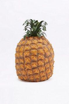 Ananas-Eiskübel