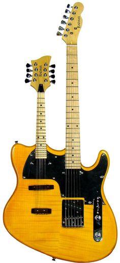 BadAax Guitar Mandolin Double Neck --- https://www.pinterest.com/lardyfatboy/