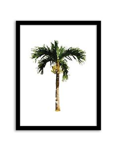 Download and print this free printable Palm Tree Watercolor wall art for your home or office! Download by following the directions below.