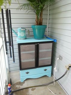 Bunny hutch dressers and bunnies on pinterest for Guinea pig dresser cage
