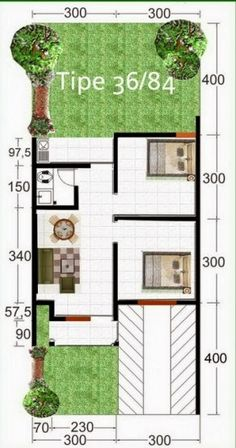 40 Examples of Minimalist House Plans Type 36 Various Models Minimalist House Design, Small House Design, Minimalist Home, Types Of Houses, Big Houses, Conceptual Design, House Built, House Roof, Home Design Plans
