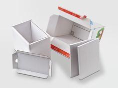 Offsetkaschiert aus Isowelle. Mit Selbstklebeverschluss und Aufreißfaden. Nur aus Wellpappe mit Isolierring und Abdeckung, kann auf aufwendiges Isoliermaterial verzichtet werden. • #packit! #foodmailer #offset #packaging #karton #wellpappe #webshops #onlineshop #ecommerce #verpackungsdesign #nachhaltig #plasticfree #keinplastik #klimaneutral #recycling #lebensmittelversenden #gekühltversenden Ecommerce, Recycling, Container, Packaging Design, Paper Board, Foods, E Commerce, Upcycle