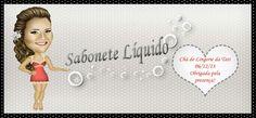 Rótulo do sabonete líquido para lembracinha do chá de lingerie