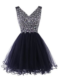 Tideclothes Women's Fantastic Short V-neck Prom Dress Evening Dress with Beads Navy2 Tideclothes http://www.amazon.com/dp/B014PL6XU0/ref=cm_sw_r_pi_dp_iDycxb0T0ADJ7