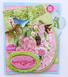 ScrapBerry's: The Art of Nature, a card by Irit Shalom