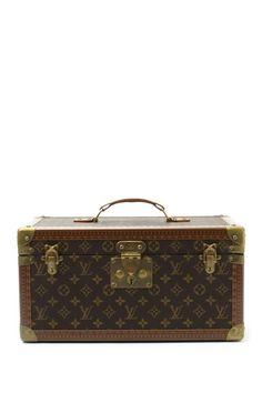 Vintage Louis Vuitton Leather Makeup Box on HauteLook