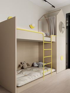 Architecture,Interior Design,Visual Effects,Autodesk Max Small Girls Bedrooms, Cool Kids Bedrooms, Kids Bedroom Designs, Kids Room Design, Attic Bedrooms, Apartment Interior Design, Room Interior, Kid Spaces, Open Spaces