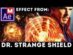 After Effects Tutorial: Shield Effect from Doctor Strange - Dr Strange movie - Magic Shield Adobe After Effects Tutorials, Effects Photoshop, After Effects Projects, Dr Strange Movie, Doctor Strange, Vfx Tutorial, Photoshop Tutorial, Motion Design, Video Editing
