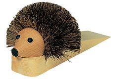 Hedgehog Door Stop on OneKingsLane.com I am in LOVE!!!!! Freakin $32.00