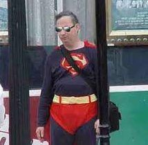 Never fear - Superman is here!