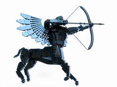 Winged Centaur: A LEGO® creation by MortalSwordsman . : MOCpages.com