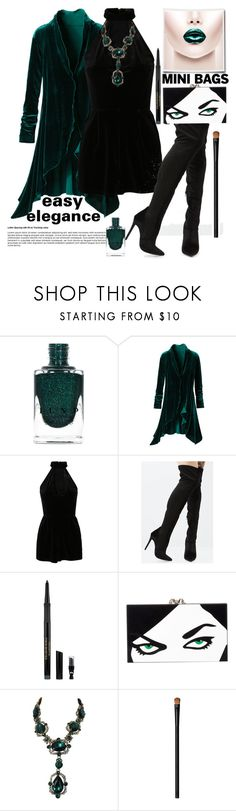 """Be Remembered!"" by loves-elephants ❤ liked on Polyvore featuring New Look, Shoe Republic LA, Elizabeth Arden, Charlotte Olympia, Oscar de la Renta and NARS Cosmetics"