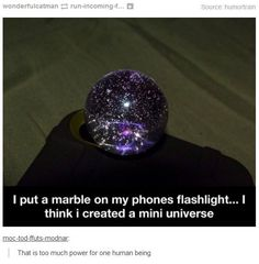 Well now I need a marble
