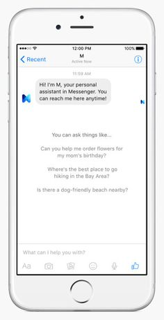 Facebook Launches M,