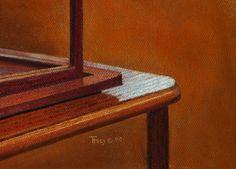 """Edge of the World, Pastel"" Robert C. Tracy Pastels 7.5 x 9.5"" 2008"