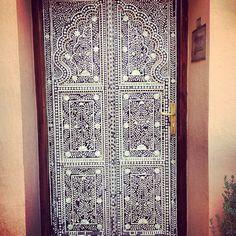More door. Details. #maroc #chic