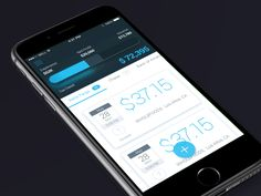 A photo of finance app, Best Mobile Interaction Designs of 2016 Best Ui Design, Web Design, App Ui Design, Mobile App Design, User Interface Design, Finance, Ios, Ui Design Inspiration, Best Mobile