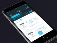 Micro-interactions mettant en scène la catégorisation d'items de liste au sein d'une application de gestion financière.