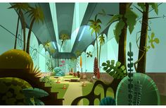 Mais cenários criados para Eliot Kid, da francesa Samka Productions | THECAB…